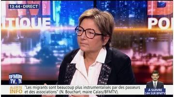 """Questions d'éco: La crise migratoire à Calais a """"complètement déstabilisé l'économie"""""""