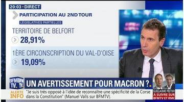 Double défaite aux législatives partielles: un avertissement pour Emmanuel Macron ?