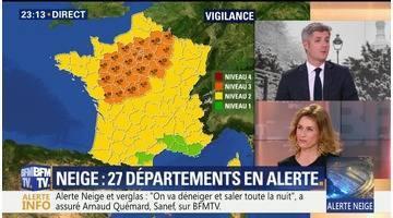 Neige: 27 départements toujours en vigilance orange (5/5)