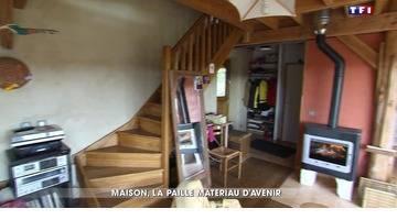 La maison en paille séduit par son prix et ses nombreux avantages