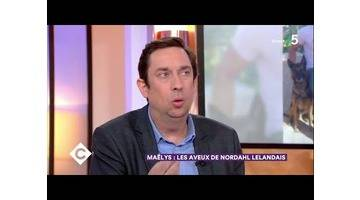 Maëlys : les aveux de Nordahl Lelandais - C à Vous - 14/02/2018