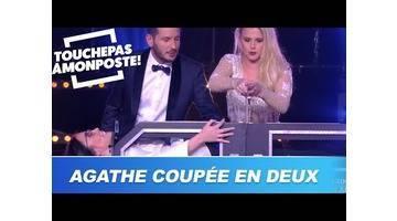 Agathe Auproux se fait couper en deux par Maxime Guény