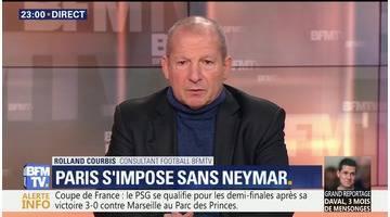 Le PSG s'impose sans Neymar face à Marseille