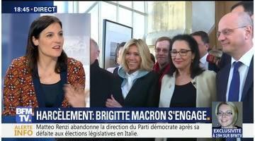 Harcèlement scolaire: Brigitte Macron s'engage