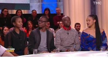 Invités : Fatou Diouf, Bamba Ndiaye, Anicet Marahoua et Francesca Ngahane, étudiants Africains à Paris