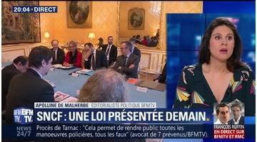 Réforme de la SNCF: la CGT a été reçue à Matignon