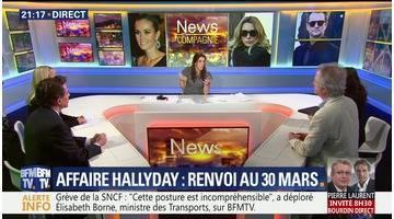 Affaire Hallyday: renvoi au 30 mars (1/2)