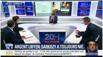 Soupçons de financement libyen: Nicolas Sarkozy en garde à vue