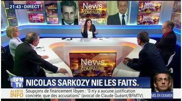 Soupçons de financement libyen: Nicolas Sarkozy mis en examen (2/2)