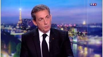 """Nicolas Sarkozy au 20H de TF1 : """"Il n'y a que la boue, la haine, la médiocrité et la calomnie"""""""