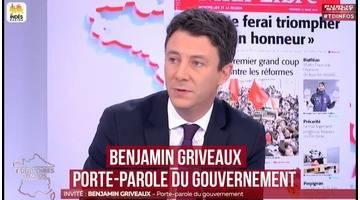 Benjamin Griveaux: - Territoires d'infos (23/03/2018)