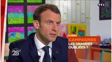 Percy Kemp / Macron face aux campagnes : comment combler les fractures ? - 28 minutes - ARTE