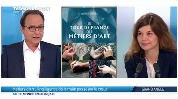 Tour de France des métiers d'art: l'intelligence de la main passe par le coeur