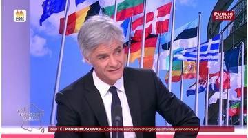 """GAFA : """" La situation actuelle n'est pas tolérable"""" déclare Pierre Moscovici"""
