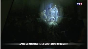 Dans les coulisses du Louvre après sa fermeture