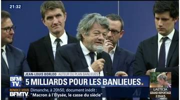 """Plan banlieues"": ce que propose Jean-Louis Borloo"