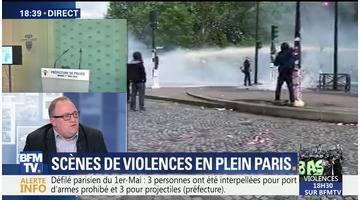 Scènes de violences en plein Paris (2/2)