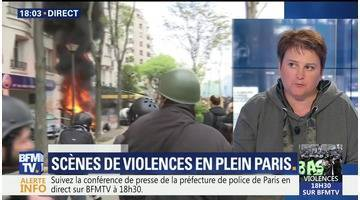 Scènes de violences en plein Paris (1/2)