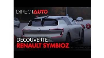 RENAULT SYMBIOZ : A BORD D'UN CONCEPT 100% AUTONOME