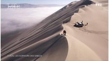 Ils surfent sur les plus hautes dunes de sable du monde