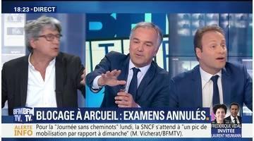 Blocage à Arcueil: examens annulés