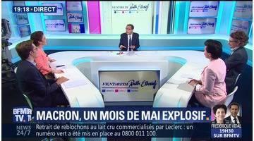 Un mois de mai explosif pour Emmanuel Macron
