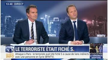 Attaque au couteau à Paris: le terroriste était fiché S (3/4)