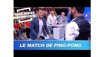 Cyril Hanouna défie Benjamin Castaldi au ping-pong !