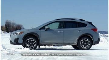 Turbo : Subaru XV au Québec : le 4 roues motrices à l'épreuve...