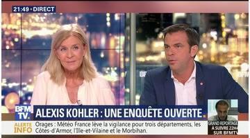 """Alexis Kohler a """"l'entière confiance"""" d'Emmanuel Macron (2/2)"""