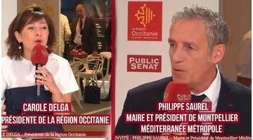 Invités : Philippe Saurel / Carole Dega - Territoires d'infos (14/06/2018)