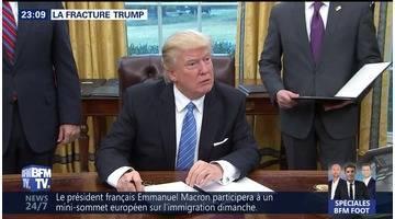 La fracture Trump
