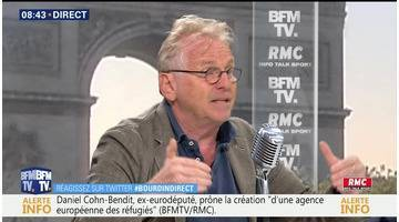 Daniel Cohn-Bendit face à Jean-Jacques Bourdin en direct