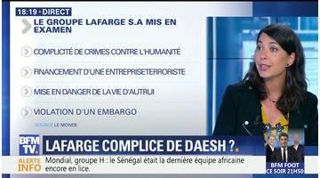Lafarge mis en examen dans l'affaire du financement de Daesh