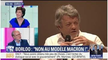 """Jean-Louis Borloo dit """"non au modèle Macron"""""""