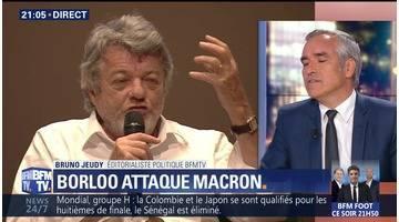 """Borloo dénonce la vision de la société """"dangereuse"""" de Macron (1/2)"""