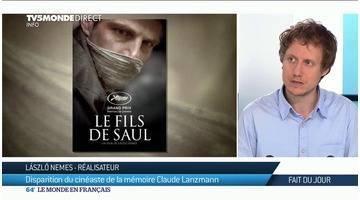 Le réalisateur Laszlo Nemes rend hommage à Claude Lanzmann