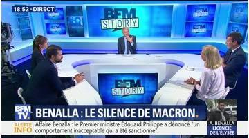 Affaire Benalla: Emmanuel Macron reste toujours silencieux