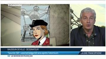 La Une Francophone : l'expo universelle de Bruxelles en BD, 60 après