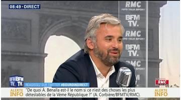 Alexis Corbière face à Apolline de Malherbe en direct