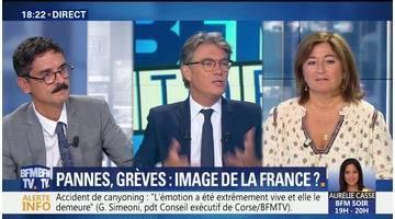 Grèves, Pannes: peuvent-elles nuire à l'image de la France ?
