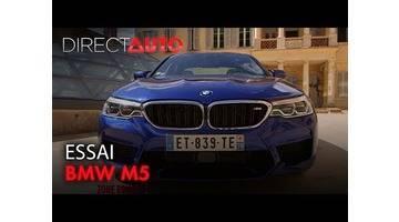 ESSAI : BMW M5 : MÉCHANTE BERLINE !