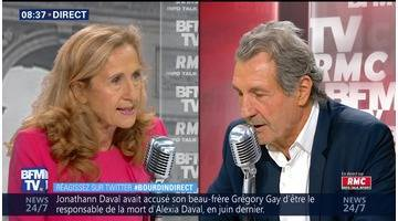 Nicole Belloubet face à Jean-Jacques Bourdin en direct