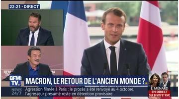Macron: le retour de l'ancien monde ? (1/2)