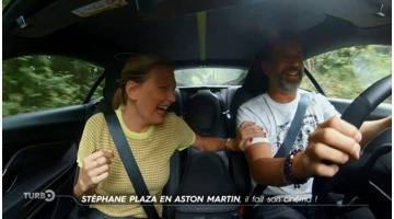 Turbo : Stéphane Plaza en Aston Martin : il fait son cinéma !