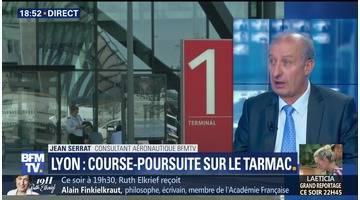 Lyon: un homme arrêté après une course-poursuite sur le tarmac (2/2)
