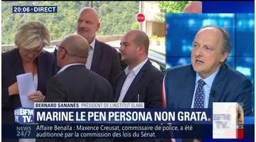 Var: Marine Le Pen persona non grata à Châteaudouble