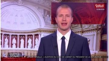 Affaire Benalla : l'audition de François-Xavier Lauch, chef de... - Les matins du Sénat (13/09/2018)