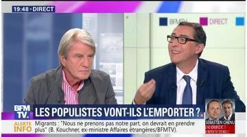 Bernard Kouchner face à Laurent Neumann