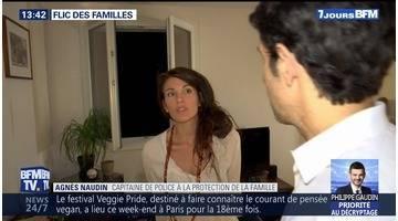 Rencontre avec Agnès Naudin, capitaine de police à la protection de la famille